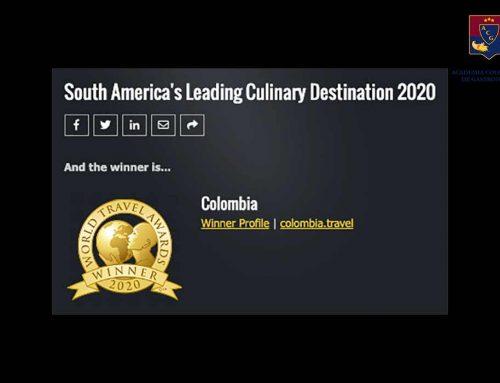 Colombia, mejor destino culinario de Sur América