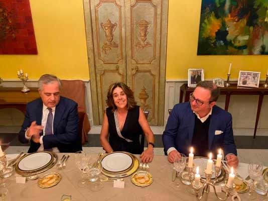 Cena en Roma
