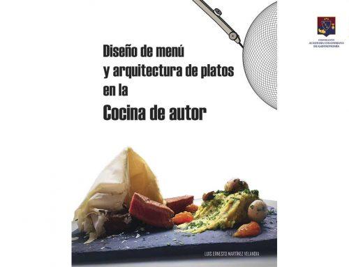 Diseño de menú y arquitectura de platos