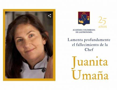 La Academia Colombiana de Gastronomía lamenta